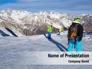 Snowboarding winter sport snow mountain