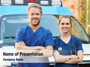 Staff portrait medical standing front