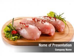 Chicken fresh raw fillets