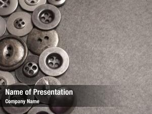 Button fashion metal