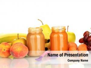 Vegetables jars fruit baby food