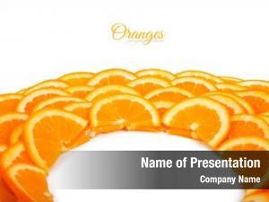 Orange shape circle