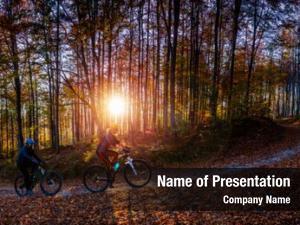 Biker cycling, mountain couple cycle