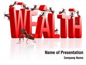 Build wealth prosperity ants red