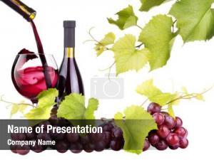 Wine grapes, wine, glass, wine