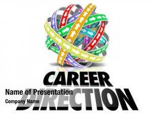 Words career direction under ball