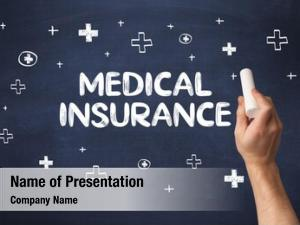 Medical hand drawing insurance inscription