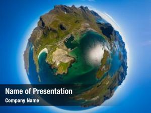 Lofoten mini planet archipelago county