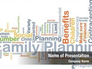 Wordcloud background concept family planning
