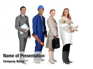 Different four people professions
