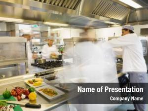 Work chefs busy busy kitchen