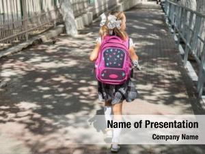 Primary little girl school school