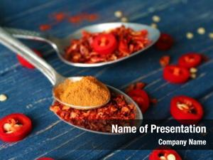 Composition composition with red chili