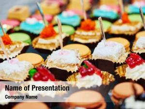 Sweet catering services snacks food