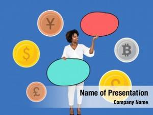 Global banker various currencies
