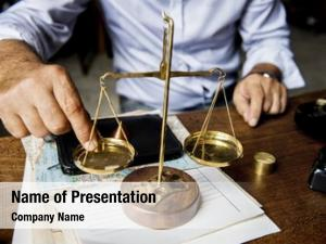 Table attorney scale