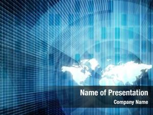 Global business technology team concept