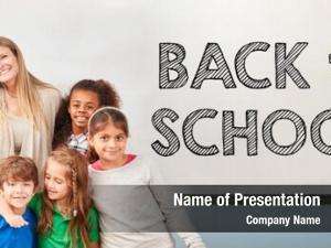 Children back school school class