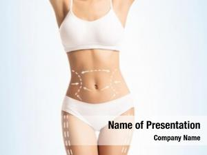 White female body slimming underwear