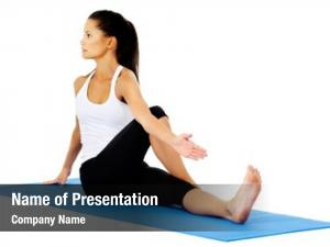 Yoga part collection poses fit
