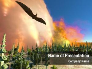 Dinosaur doomsday powerpoint background
