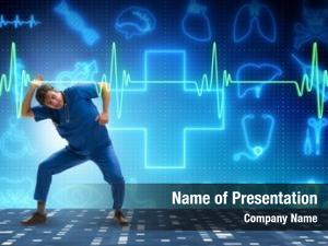 Cardiology man doctor telemedicine concept