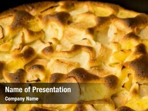 Restaurant pie organic apple