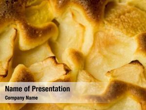 Pie organic apple dessert
