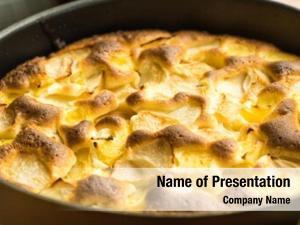 Thanksgiving organic apple pie