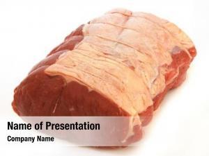 Sirloin joint beef