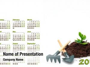 Plant, 2011 calendar rake shovel