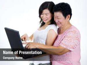 Sharing mother daughter information internet