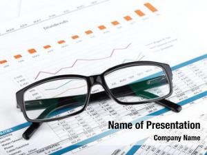 Workplace glasses contemporary financial papers