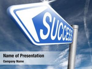 Key success road successful business