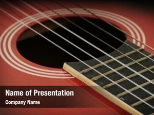Guitar closeup acoustic strings