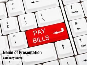 Key pay bills place enter