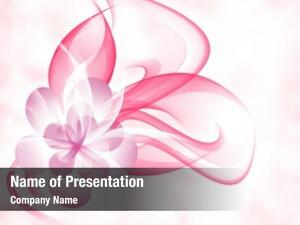 Romantic beautiful flowers pink veil