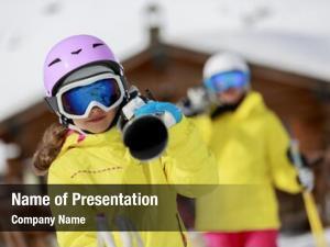Resort, ski, ski winter sports