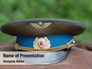 Uniform soviet military hat