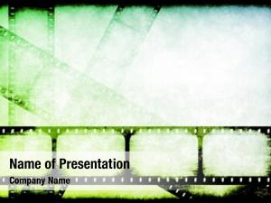 Highlight movie industry reels abstract