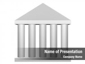 Roman law order columns clip