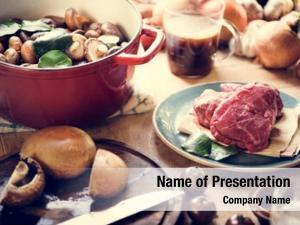Photography dinner preparation recipe idea