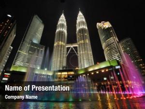 Malaysia kuala lumpur city skyline