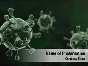 Influenza computer generated virus cells