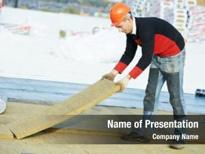 Roofer builder powerpoint background