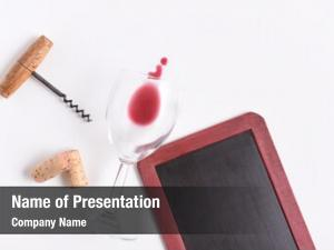 Menu: blank wine chalkboard wine