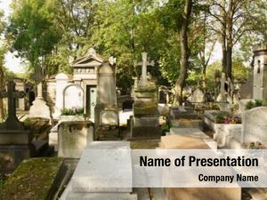 Lachaise view pere cemetery, largest