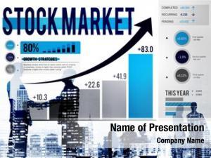 Stock stock market exchange trade