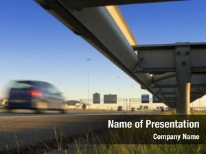 Rail motorway safety route information