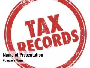 Words tax records round red